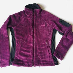 Columbia Cozy Fleece Interchange Zip Up Jacket L